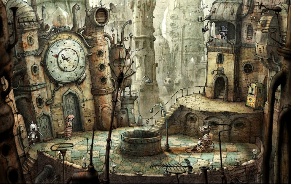 Machinarium Android App Screenshot