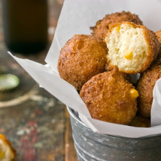 Creamy Corn Hush Puppies