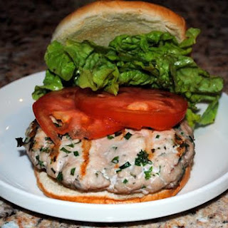 Fresh Herbed Turkey Burgers