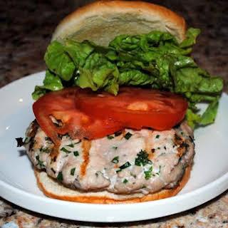 Fresh Herbed Turkey Burgers.