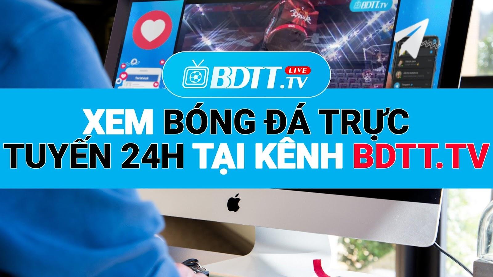 BDTT.tv - Xem trực tiếp bóng đá miễn phí như VTV6HD, là kênh giúp bạn có thể xem trực tiếp bóng đá chất lượng cao, mượt mà, không lo quảng cáo. Hỗ trợ cập nhật nhanh các trận đấu bóng đá kịp thời và tức thì nhất 24h.