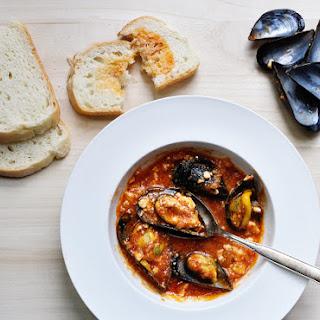 Mussels Saganaki (μύδια Σαγανάκι)