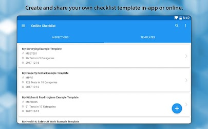 OnSite Checklist - Quality & Safety Inspector APK screenshot thumbnail 7