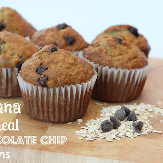Banana Oatmeal Chocolate Chip Muffins Recipes.