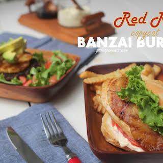 Red Robin Recreation – copycat teriyaki Banzai Burgers.