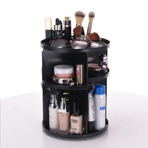 Suport rotativ pentru cosmetice, rotire 360 grade