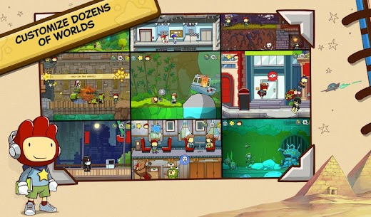 لعبة Scribblenauts Unlimited 3