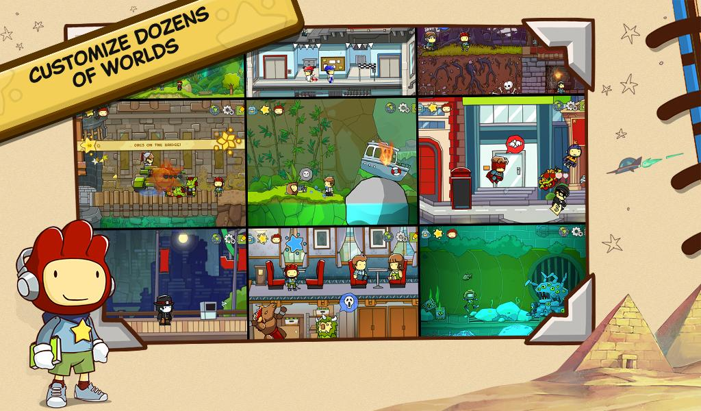 Scribblenauts Unlimited screenshot #3