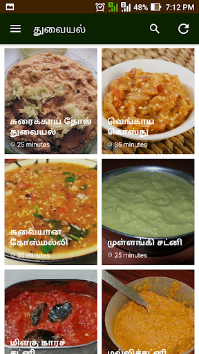 Chutney Thuvaiyal Recipes