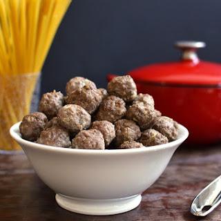 Make Ahead Freezer Meatballs Recipe