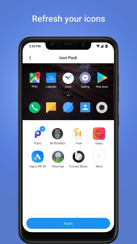 POCO Launcher screenshots