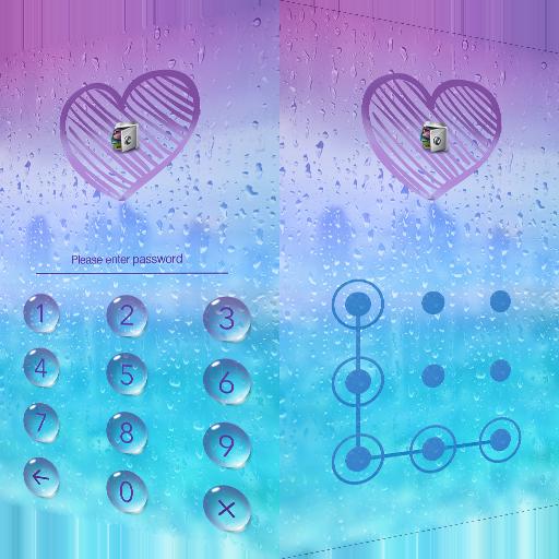 AppLock Theme Rain