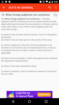 CPC - Code of Civil Procedure - screenshot