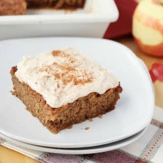 Gluten-Free Apple Cinnamon Cake {Dairy-Free}.