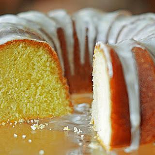 Lemon Buttermilk Pound Cake Recipe