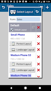 SailformsPro Relational DB- screenshot thumbnail