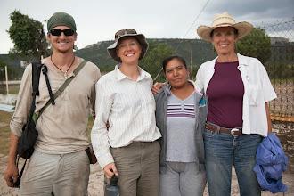 Photo: Jeff, Jocelyn, Monseurat, Pilar