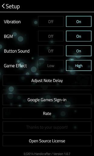 Full of Music 1 ( MP3 Rhythm Game ) 1.9.5 screenshots 6