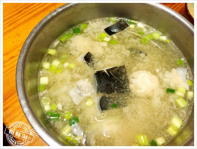 吉祥熱炒-味噌鮭魚湯