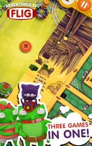 Adventures of Flig - Airhockey screenshot 1