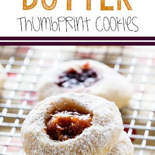 Butter Thumbprint Cookies