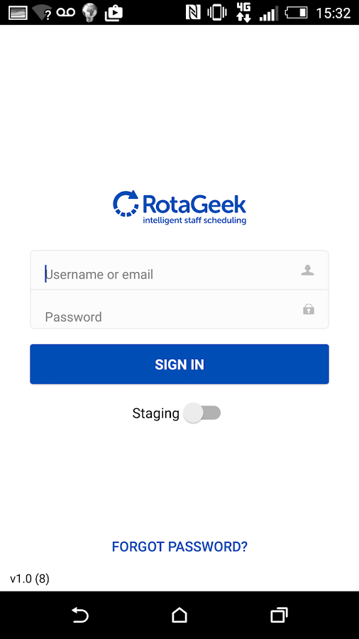 RotaGeek Employees- screenshot