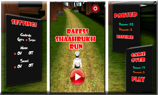 Raeess 3D Subway Running Game