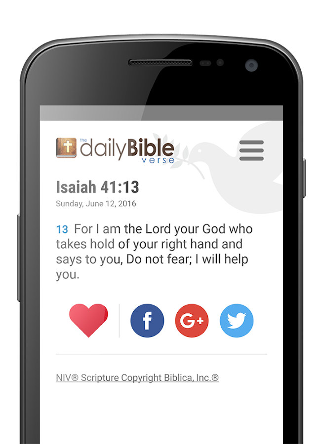 Daily Bible Verse- screenshot