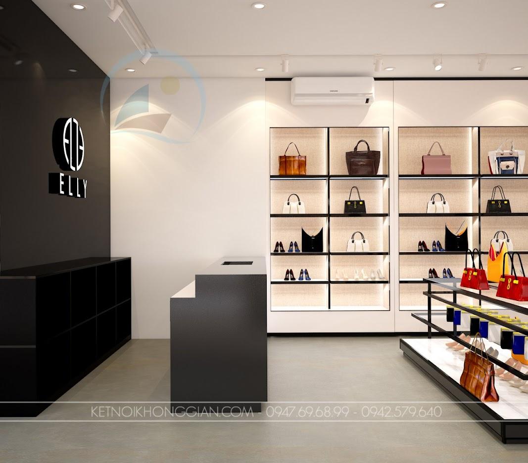thiết kế shop túi xách trung hòa 7