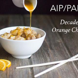 Decadent Orange Chicken (AIP, PALEO)