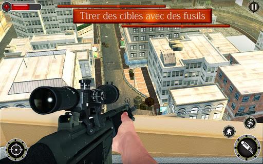 Code Triche Tireur d'u00e9lite 3D Tueur u00e0 gages Tournage Jeux APK MOD screenshots 4