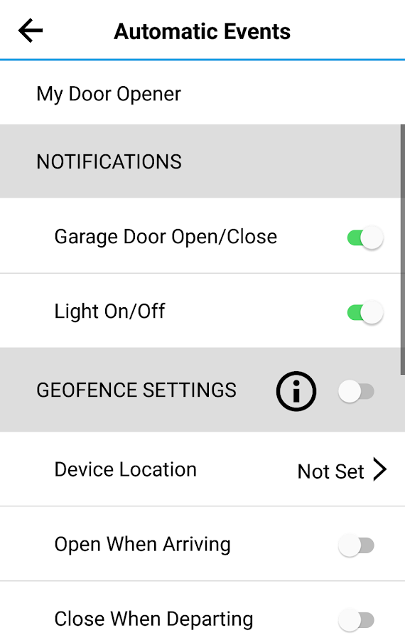 Amarr Entrematic Garage Door Controller- screenshot