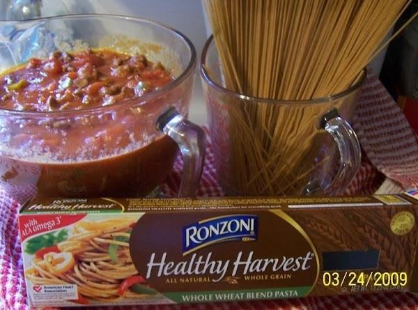 Cin's Homemade Spaghetti Sauce Recipe