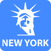 New York Travel Map Guide with Events 2018