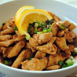 Spicy Orange-Ginger Chicken.