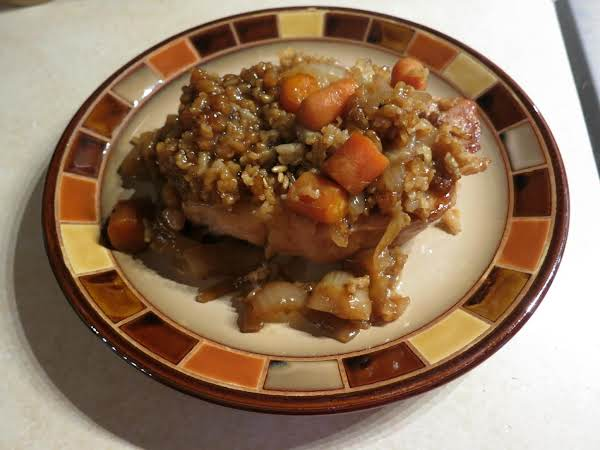 Browned Rice & Pork Casserole Recipe