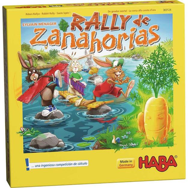 HABA® Rally de Zanahorias