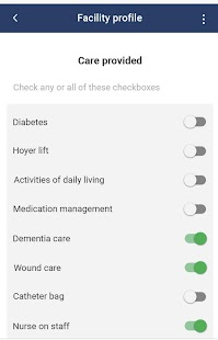 Realtime Senior Living Facility App - náhled
