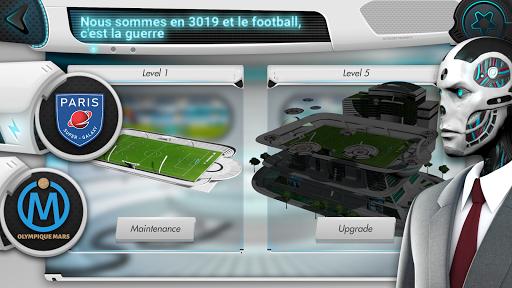 Code Triche Futuball - Jeu de manager de foot du futur  APK MOD (Astuce) screenshots 1