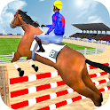 Jumping Horse Race Show 2020 icon