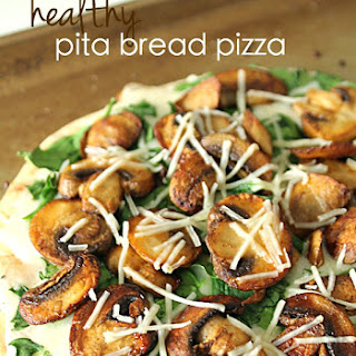 Healthy Pita Bread Pizza.