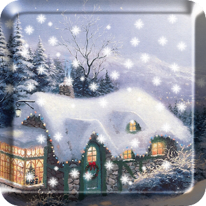 Download Fairy Tale Snow Live Wallpaper For PC