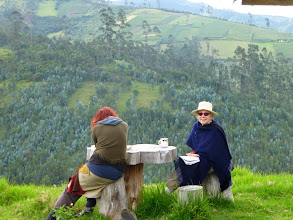 Photo: Tea and a chat