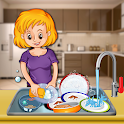 Kitchen Cleaning & Dish Washing icon