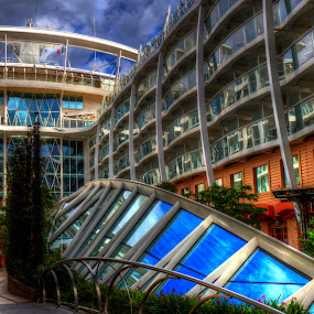 Central Park, Oasis of the Seas by Chip Bolcik - Transportation Boats
