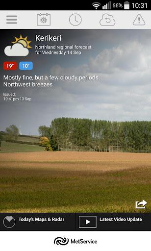 玩免費天氣APP|下載MetService Rural Weather App app不用錢|硬是要APP
