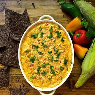 Easy Cheesy Hot Corn Dip.