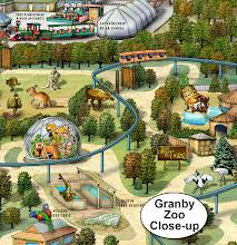 Photo: Granby Zoo, Granby, QC (detail view)