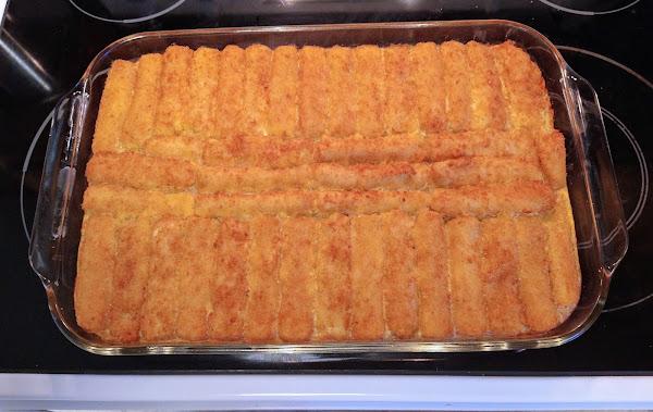 Lenten Fishstick Casserole Recipe