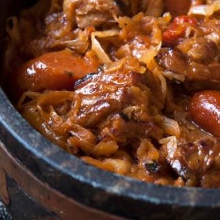 Bigos Stew.